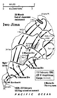 Iwo Jima Battle Plan