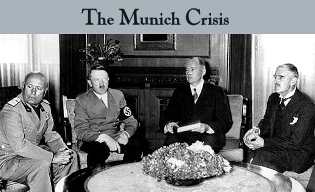 The Munich Crisis Header
