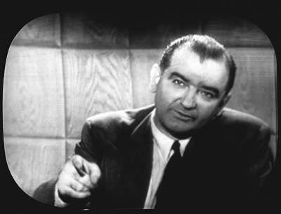 Joe McCarthy on TV rebutting Ed Murrow